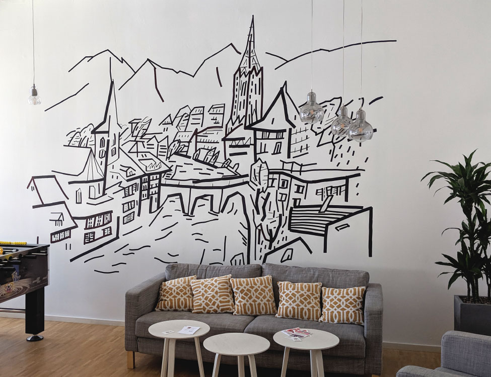 Julia Krusch Wall Drawings